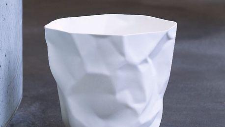 Bílý odpadkový koš Essey Bin Bin