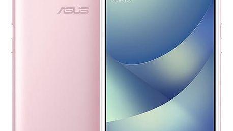 Mobilní telefon Asus 4 Max (ZC554KL-4I040WW) (ZC554KL-4I040WW) růžový Software F-Secure SAFE, 3 zařízení / 6 měsíců v hodnotě 979 Kč + DOPRAVA ZDARMA