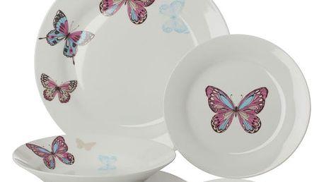 12dílný sada nádobí Sabichi Mariposa