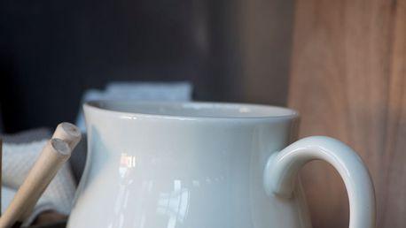 IB LAURSEN Džbán Mynte Butter Cream 2,5 l, krémová barva, keramika