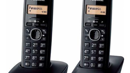 Domácí telefon Panasonic KX-TG1612FXH šedý (KX-TG1612FXH)