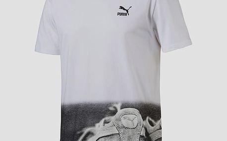 Tričko Puma Brand Photo Tee White Bílá