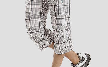 Capri kalhoty Alpine Pro MAINADA Bílá