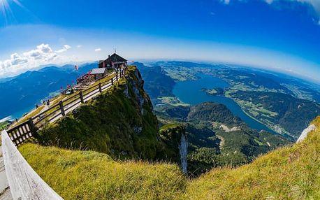 Rakousko - jezera Solné komory a lázeňská města: výlet pro 1 os.