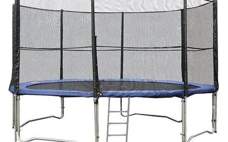 Trampolína DUVLAN 427 cm + ochranná síť + schůdky