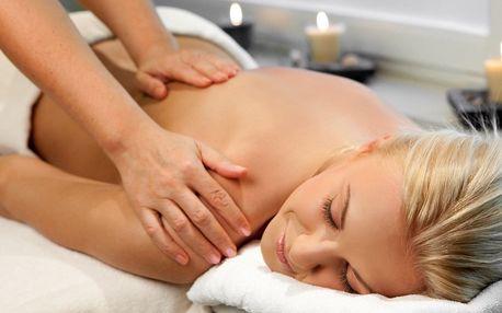 Párová 120minutová prohřívací masáž