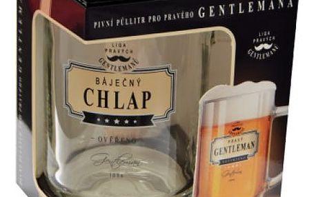 Originální pivní sklenice Liga Gentlemanů