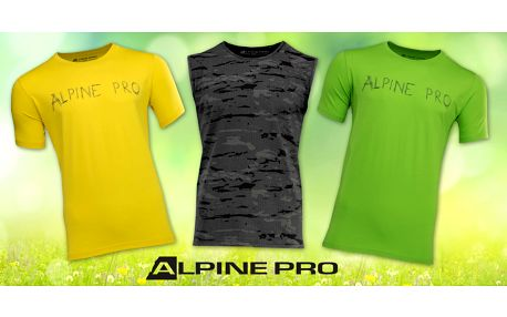 Pánská trika a tílko Alpine Pro