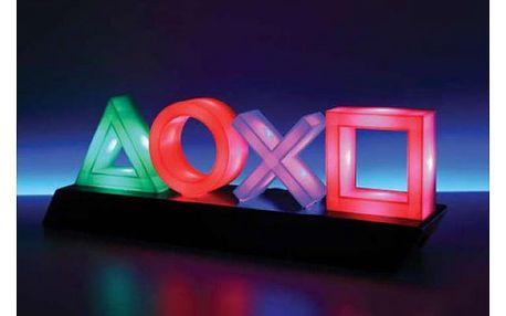 Lampička PlayStation reagující na zvuky