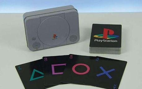 Originální hrací karty PlayStation