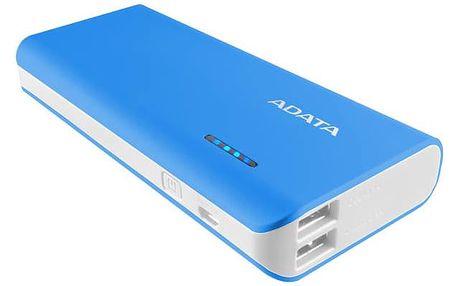 ADATA PT100 10000mAh (APT100-10000M-5V-CBLWH) modrá