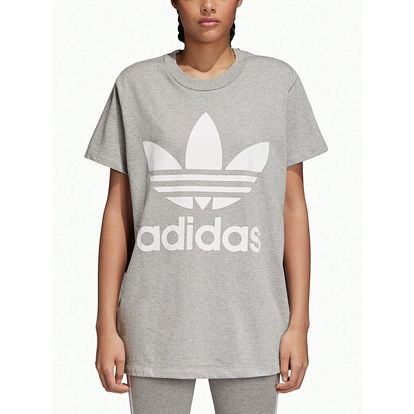 Tričko adidas Originals Big Trefoil Tee Šedá