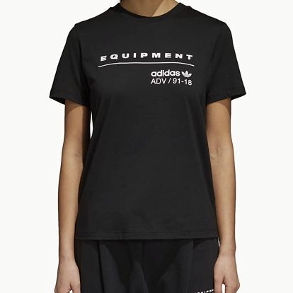 Tričko adidas Originals Eqt Tee Černá