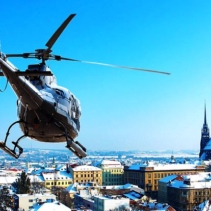 Vyhlídkový let vrtulníkem až pro 2 osoby