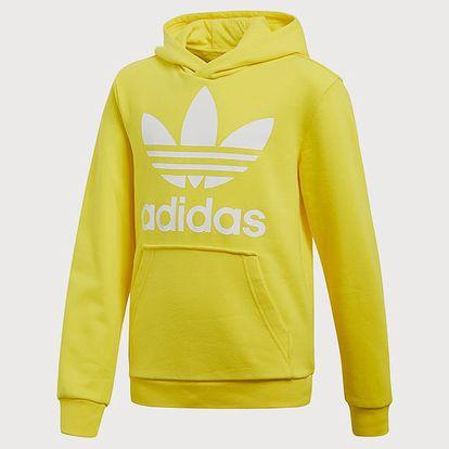 Mikina adidas Originals J Trf Hoodie Žlutá