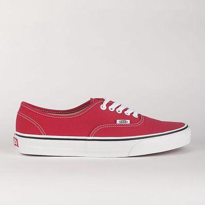 Boty Vans Ua Authentic Crimson/True Červená