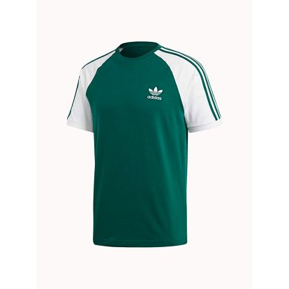 Tričko adidas Originals 3-Stripes Tee Zelená