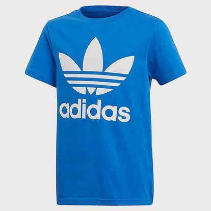 Tričko adidas Originals J Trf Tee Modrá