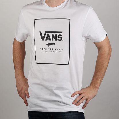 Tričko Vans Mn Print Box White/Black Bílá