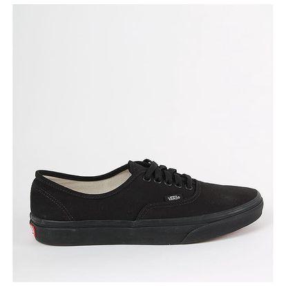 Boty Vans Ua Authentic Black/Black Černá