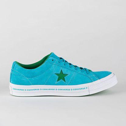 Boty Converse One Star OX Modrá