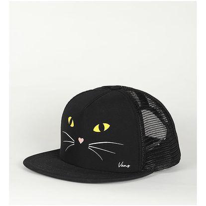 Kšiltovka Vans Wm Lawn Party Trucke Black Cat Černá