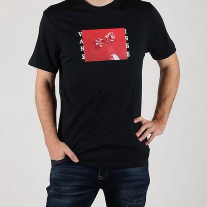 Tričko Vans Mn Bad Valentine Black Černá