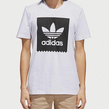 Tričko adidas Originals Solid Bb T Bílá