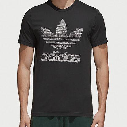 Tričko adidas Originals Traction Trefoi Černá