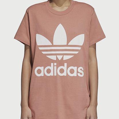 Tričko adidas Originals Big Trefoil Tee Růžová