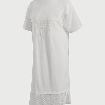 Šaty adidas Originals Clrdo Tee Dress Bílá