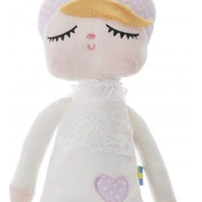 miniroom Králičí panenka Lille Kanin Snow white, růžová barva, bílá barva, textil