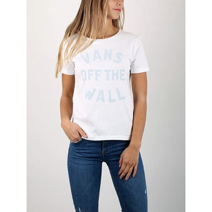 Tričko Vans Wm Vineyard White Bílá