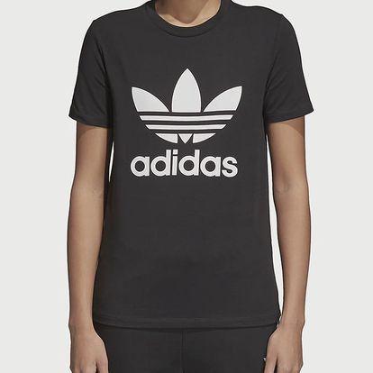 Tričko adidas Originals Trefoil Tee Černá