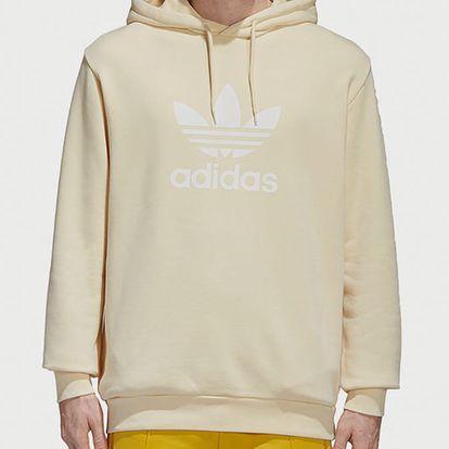 Mikina adidas Originals Trefoil Hoody Žlutá