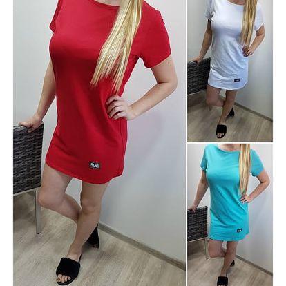 Jednoduché dámské šaty Sabina