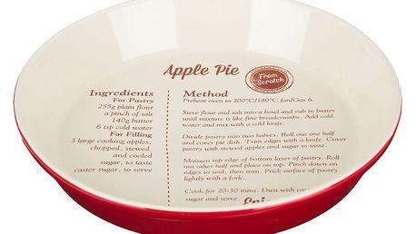 Pečicí forma s receptem na jablečný koláč Premier Housewares From Scratch
