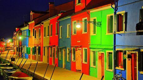 Benátské ostrovy   4denní poznávací zájezd do Itálie