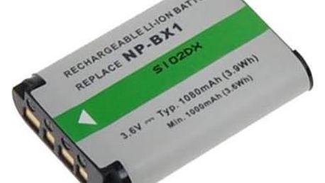 Akumulátor pro video/foto Avacom pro Sony NP-BX1 Li-ion 3,6V 1080mAh (DISO-BX1-483)