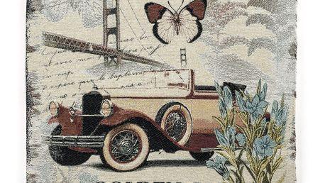 BO-MA Sedák Golden Gate, 45 x 45 cm,