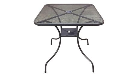 Tradgard ZWMT-80 54603 Zahradní kovový stůl - čtverec 80 x 80 cm