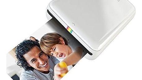 Fototiskárna Polaroid ZIP pro Android / iOS, bezdrátová, mobilní bílá (POLMP01W)
