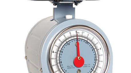 Modrá kuchyňská váha Sabichi Retro