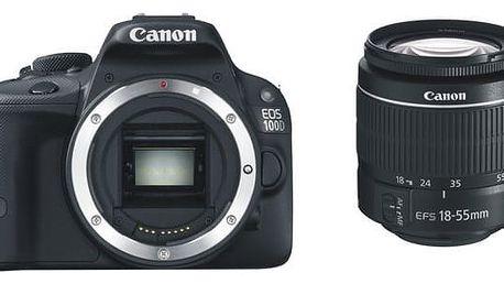Digitální fotoaparát Canon EOS 100D + 18-55 DC III (8576B033)