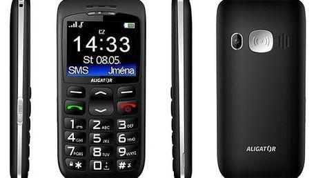 Aligator A670 Senior (A670B) černý