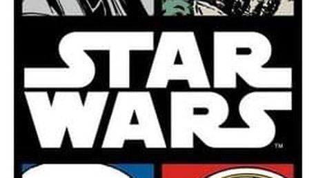 Jerry Fabrics Osuška Star Wars komiks, 70 x 140 cm