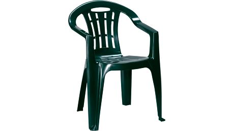 Allibert MALLORCA 41395 Zahradní židle - tmavě zelené