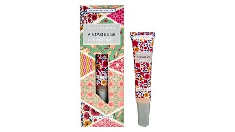 HEATHCOTE & IVORY Parfémovaný gel Fabrics & Flowers, růžová barva
