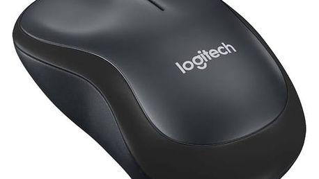 Logitech Wireless Mouse M220 Silent (910-004878) černá