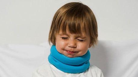 Zábalový pás proti bolestem v krku nebo šíje pro malé i velké v různých barvách